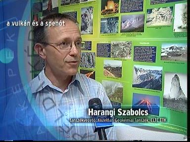 Harangi Szabolcs, tanszékvezető, Kőzettan-Geokémiai Tanszék, ELTE TTK
