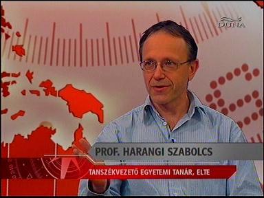 Prof. Harangi Szabolcs, tanszékvezető egyetemi tanár, ELTE