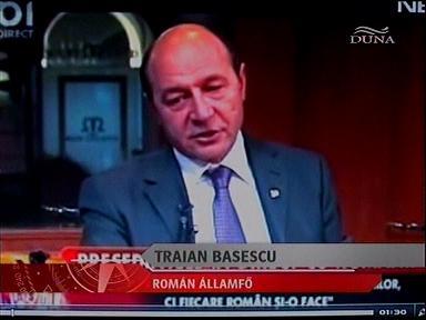Traian Basescu, államfő, Románia