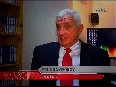 Frunda György, szenátor