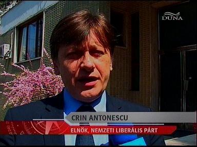 Crin Antonescu (Nemzeti Liberális Párt), elnök