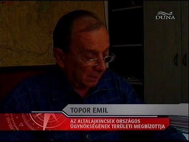Topor Emil, területi megbízott, Altalajkincsek Országos Ügynöksége