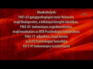 Dr. Ranschburg Jenő gyermekpszichológus munkahelyei