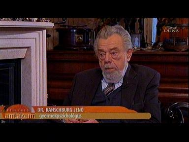 Dr. Ranschburg Jenő, gyermekpszichológus