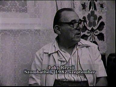 Laky Rezső, Szombathely, 1982-09