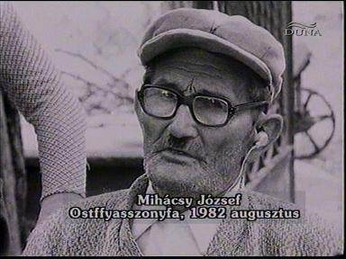 Mihácsy József, Ostffyasszonyfa, 1982-09
