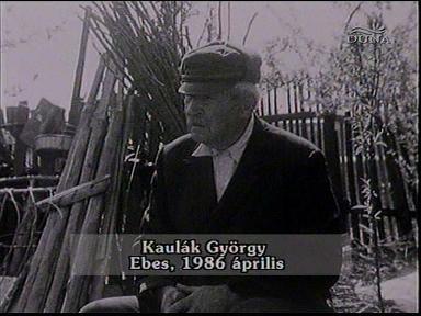 Kaulák György, Ebes, 1986-04