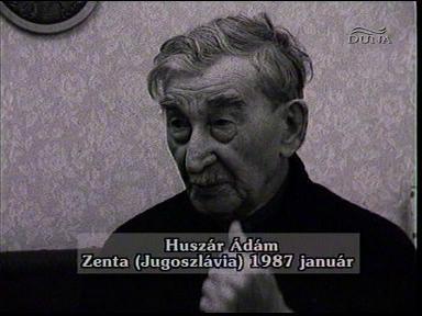 Huszár Ádám, Zenta (Jugoszlávia), 1987-01