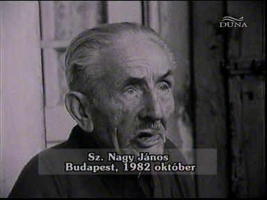 Sz. Nagy János, Budapest, 1982-10