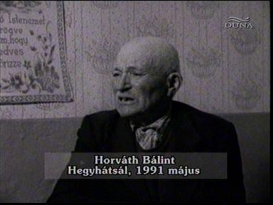 Horváth Bálint, Hegyhátsál, 1991-05