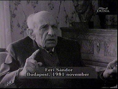 Feri Sándor, Budapest, 1981-11