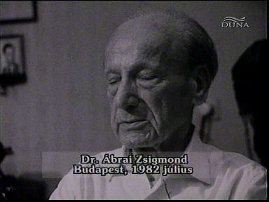 Dr. Ábrai Zsigmond, Budapest, 1982-07
