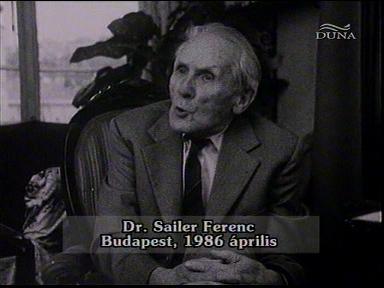 Dr. Sailer Ferenc, Budapest, 1986-04