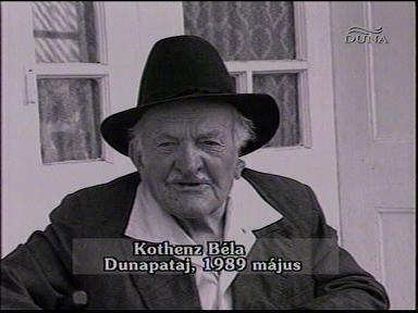 Kothenz Béla, Dunapataj, 1989-05
