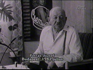 Petrás József, Budapest, 1982-07