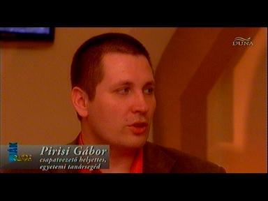 Pirisi Gábor, csapatvezető-helyettes; egyetemi tanársegéd