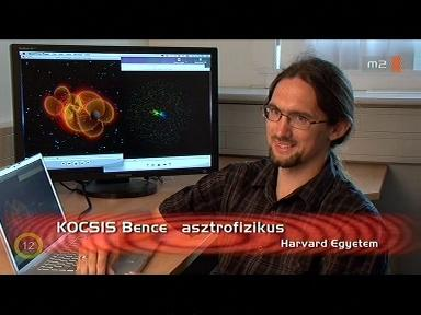 Kocsis Bence, asztrofizikus, Harvard Egyetem