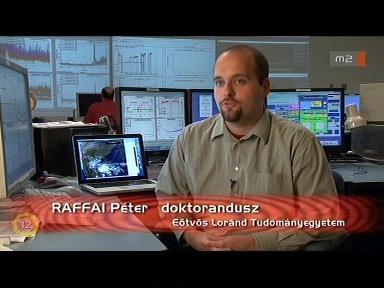 Raffai Péter, doktorandusz, Eötvös Loránd Tudományegyetem