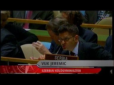 Vuk Jeremic, külügyminiszter, Szerbia