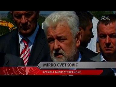 Mirko Cvetkovic, miniszterelnök, Szerbia