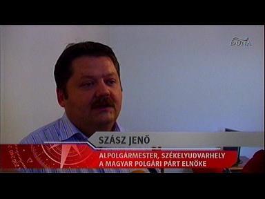 Szász Jenő, alpolgármester, Székelyudvarhely; elnök, Magyar Polgári Párt