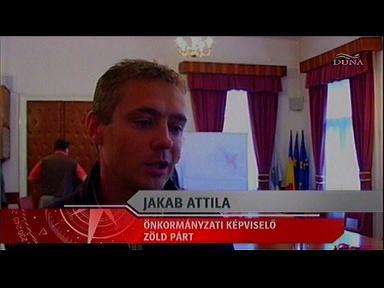 Jakab Attila, önkormányzati képviselő, Zöld Párt