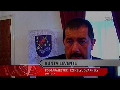 Bunta Levente, polgármester, Székelyudvarhely, RMDSZ