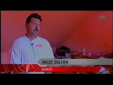 Incze Zoltán, Barót