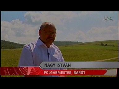 Nagy István, polgármester, Barót
