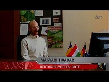 Magyari Tivadar, retorhelyettes, BBTE