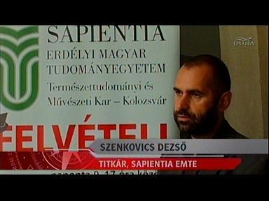 Szenkovics Dezső, titkár, Sapienita Emte