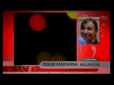 Pekár Mariann, Wellington