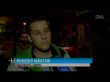 Borbíró Márton, üzletvezető, Lámpás