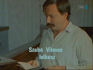 Szabó Vilmos, lelkész