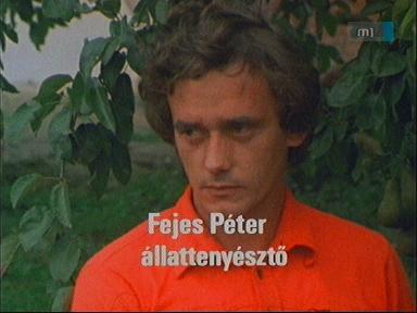 Fejes Péter, állattenyésztő