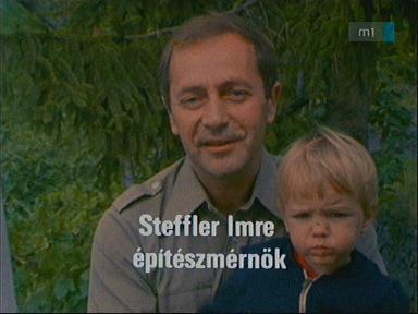 Steffler Imre, építészmérnök [balra]