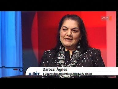 Daróczi Ágnes, elnök, Cigányságkutató Intézet Alapítvány