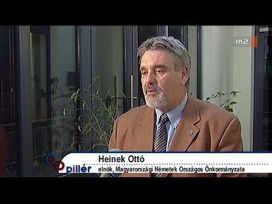 Heinek Ottó, elnök, Magyarországi Németek Országos Önkormányzata
