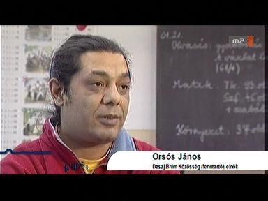 Orsós János, elnök, Dzsaj Bhím Közösség