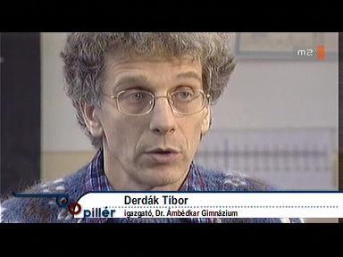 Derdák Tibor, igazgató, Dr. Ámbédkar Gimnázium, Sajókaza