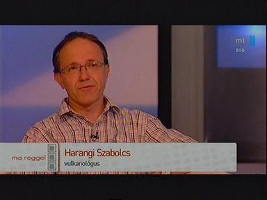 Harangi Szabolcs, vulkanológus