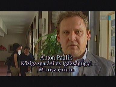 Anton Paulik, Közigazgatási és Igazságügyi Minisztérium