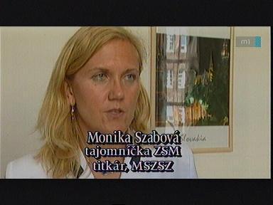 Monika Szabová, titkár, MSZSZ
