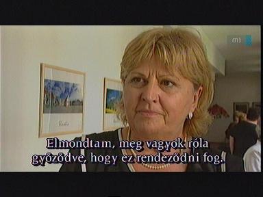 Ruzenka Egyedová Baráneková, elnök, MSZSZ