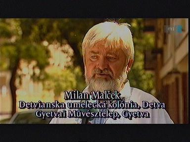 Milan Malcek, Gyetvai Művésztelep, Gyetva