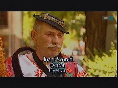 Jozef Svoren, Gyetva