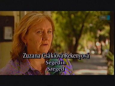 Zuzana Csákiová Rekenyová, Szeged