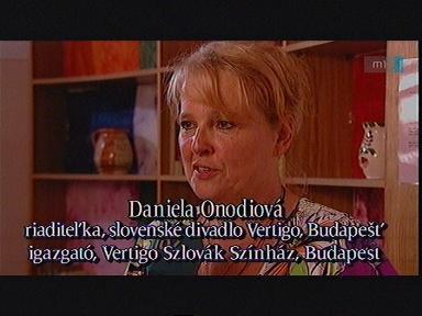 Daniela Onodiová, igazgató, Vertigo Szlovák Színház, Budapest