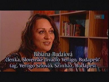 Bibiana Budaiová, tag, Vertigo Szlovák Színház, Budapest