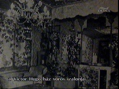 Vörös szalon, Victor Hugo-ház
